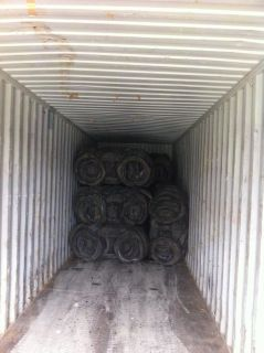 Loading Baled Tyres